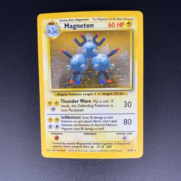 Pokémon Card (magneton)